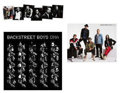 IN-STOCK Backstreet Boys DNA BSB 2019 Taiwan Limited CD + Folded Poster+6 Cards