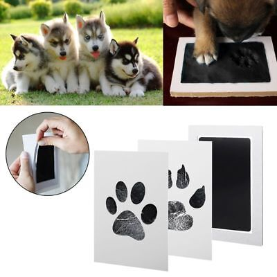 1 Set Baby Handprint And Footprint Ink Pads Paw Print Ink Kits For Baby & Pets