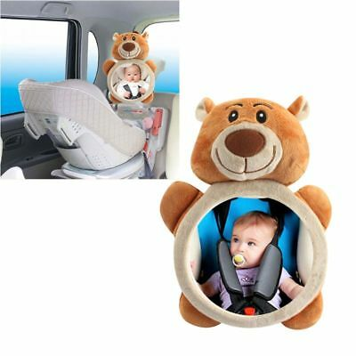 Car Rear Facing Mirror Baby Safety Back Seat Easy View Adjustable Infant Mirror