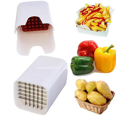 Home Perfect Fries Chips Cut One Step Fry Cutter Fruit Vegetable Potato Slicer