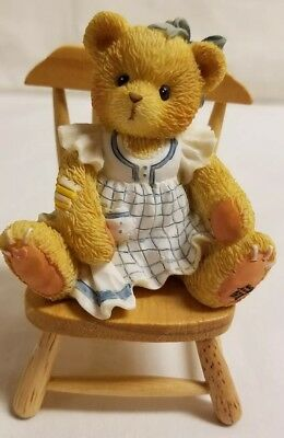 Cherished Teddies Bear Figurine Dina Bear In Mind You're Special 141275