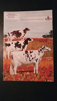 "2004 Semex Holstein Dairy Cattle Sire Directory - Sons Of ""laurie Sheik"""