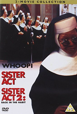 Whoopi Goldberg, Maggie Smith-Sister Act/Sister Act 2 - Back in the Habi DVD NEW