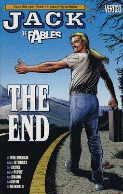 Jack of Fables: The End (Vol. 9) by Tony Akins Book The Cheap Fast Free Post
