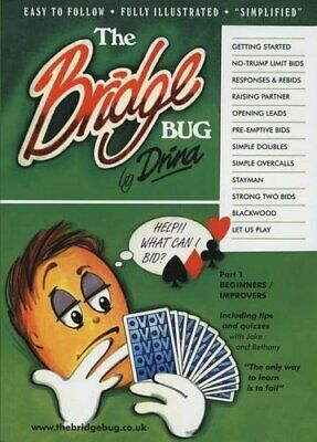 The Bridge Bug: Beginners / Improvers Part 1 by Vanner, Drina Paperback Book The