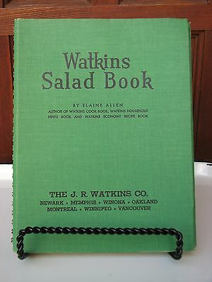 Vintage Watkins Salad Cookbook Salad Recipes '46 WW II Era Midcentury Salads