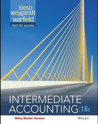 Intermediate accounting 16th edition (PDF only)