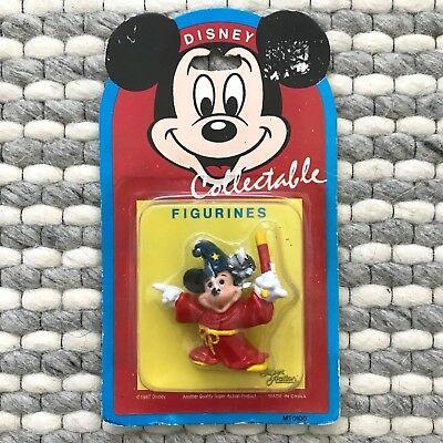 1987 Mickey Mouse Super Action Disney Collectable 7cm Figurine