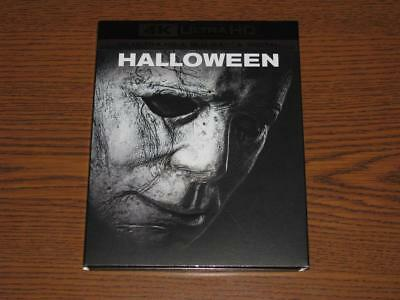 Halloween (2018, Blu-Ray 4K Ultra HD/Blu-Ray, 2-Disc Set) with Slip Cover