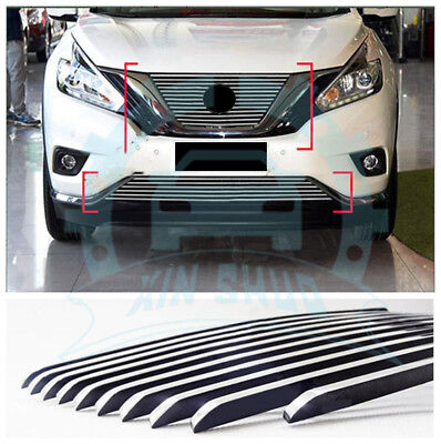CHROME FRONT END Grill Grille NEW For 03-05 Nissan Murano