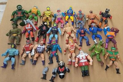 Vintage Masters Of The Universe Figures Lot
