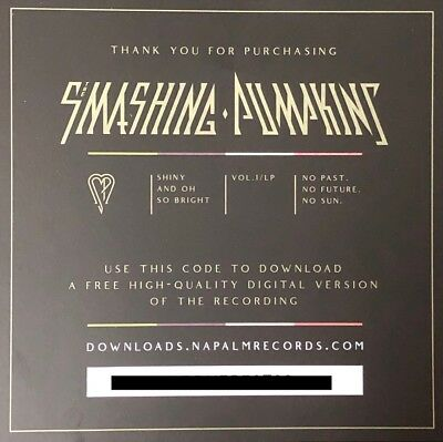 Smashing Pumpkins - Shiny and Oh So Bright Vol 1 DIGITAL DOWNLOAD CODE MP3