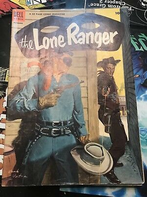 The Lone Ranger #65 ~ VERY GOOD+/FN~ (1953, Dell Comics)