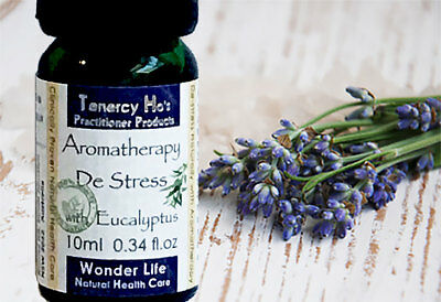 Tenercy Ho's Aromatherapy De Stress to help you sleeping better naturally