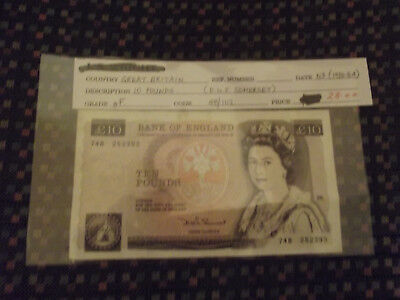 2 Bank Of England 10 Pound Notes