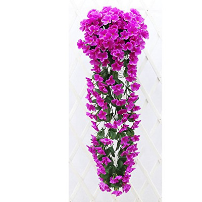 sf-world 1-Pack/2-Pack Artifical Fake Flowers Ivy Vine Hanging Garland Plant...
