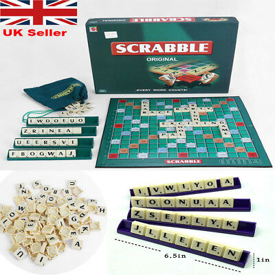 Puzzle Game of UK Original Scrabble Board Game Family Kids Adult Educational Toy