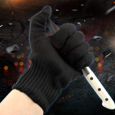 Cut Resistant Work Gloves Safety Handwork Cutting Butcher Level 5 Protective