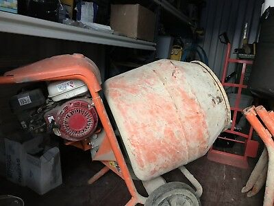 used belle cement mixers