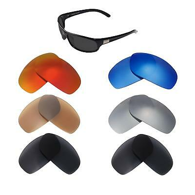 Walleva Replacement Lenses for Bolle Anaconda Sunglasses-Multiple Options