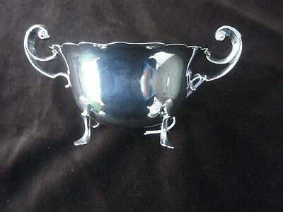1901 lovely solid silver bowl  fine condition 150g by SW and Co