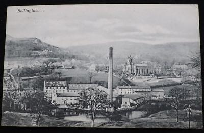 Old Postcard Of Bollington 1911.