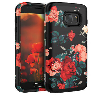 For Samsung Galaxy S7 Edge 3-Layer Hybrid Heavy Duty Shockproof Protective Case