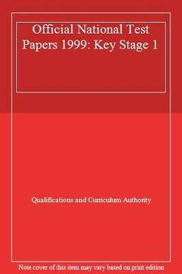 Official National Test Papers 1999: Key Stage 1 By Qualifications and Curriculu