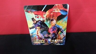 JUSTICE LEAGUE - 3D Lenticular Magnet / Magnetic Cover for BLURAY STEELBOOK