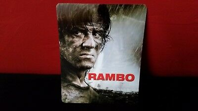RAMBO - 3D Lenticular Magnetic Cover / Magnet for BLURAY STEELBOOK