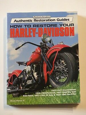 how to restore your Harley-Davidson     Bruce Palmer III