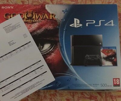 Ps4 console 500 Gb Nuova PlayStation Cuh-1116a 5.05