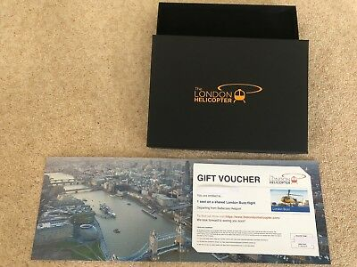 London Helicopter Ride Voucher (Single Person) 2019 Bargain!