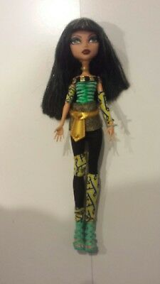 Monster High Doll - Cleo De Nile - Schools Out - Excellent Condition