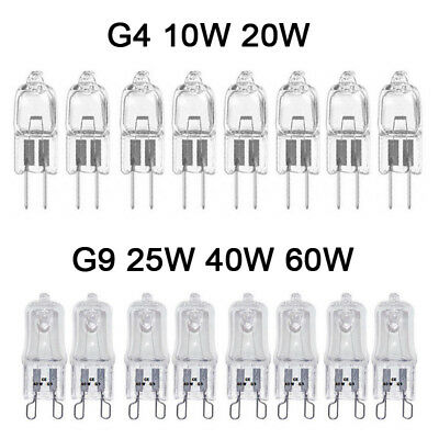 G4 G9 Halogen Capsule Light Bulbs 10W 20W 25W 40W 60W Home Decorative Lighting