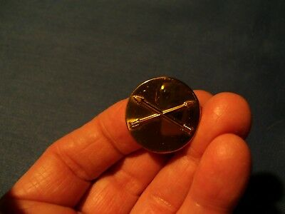 Rare WWII FSSF First Special Service Force One-Piece Stamped EM Collar Disc