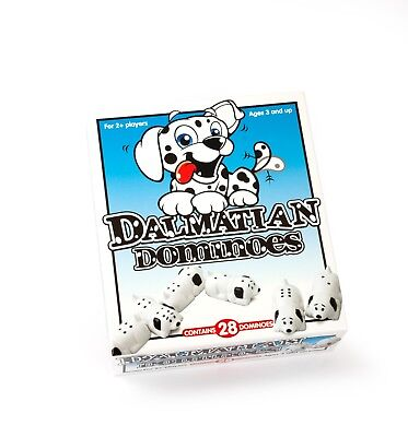 DALMATION Dominoes Ages 3 and up by Paul Lamond Games Kids Dominoes Complete