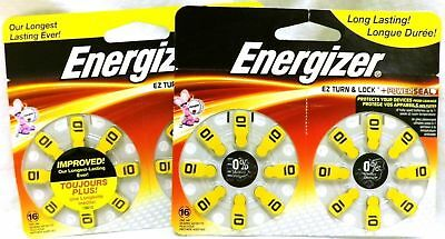 Lot of 2 Energizer Size 10 hearing Aide Battery - 2867