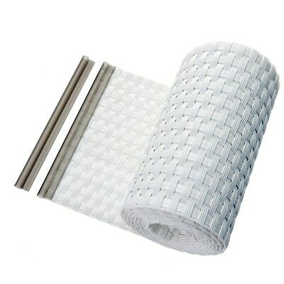 Screen Privacy Strips Rattan Fence Panels Haga Anthracite Anthrazit
