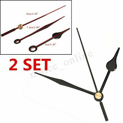 2pcs Replacement Clock Hands DIY Wall Mechanism Quartz Repair Movement Tool Kit