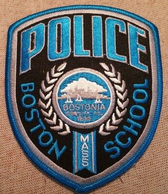 MA Boston Massachusetts School Police Patch