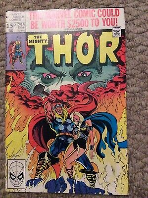 The Mighty Thor #299 September 1980