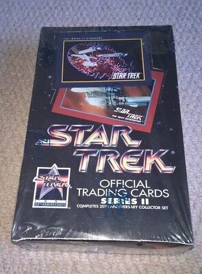 Star Trek Official Trading Cards Series II 25th Anniversary Box Factory Sealed