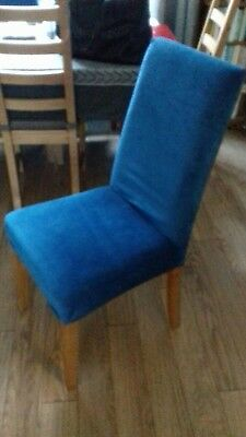 dining chair covers (6) vgc