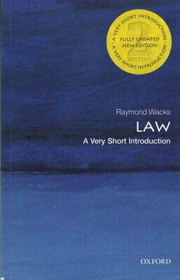 Law: A Very Short Introduction by Raymond Wacks 9780198745624 (Paperback, 2015)