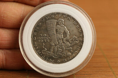 rare old tibet silver copper  collection man  Valuable Coin gift