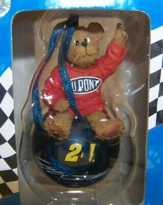 Boyds Bears Racing Collectible Hol.iday Ornament #24 Dupont Jeff Gordon 2006 Mib