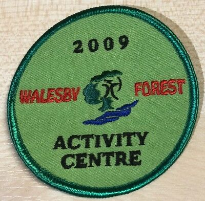 Walesby Forest Activity Centre Badge Patch Scouts Scouting