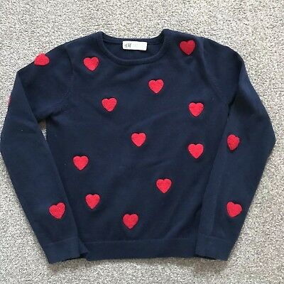 H&M Girl's Jumper - Size 134/140 - Age 8-10 Years