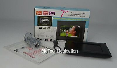 Used Sungale 7-inch Digital Photo Frame CD705 / Good / In Box #kcd75